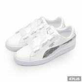 PUMA 女 BASKET HEART BLING JR  經典復古鞋- 36684702