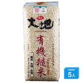 池上有機糙米1.5KGX5【愛買】