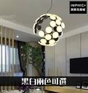 INPHIC-後現代客廳餐廳造型燈具C形燈具吊燈LED燈-黑白兩色可選_WUEs