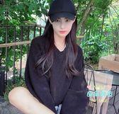長假髮 帽子一體女夏天時尚潮流戴長髮夏季帶大波浪網紅全頭套長捲髮 4色