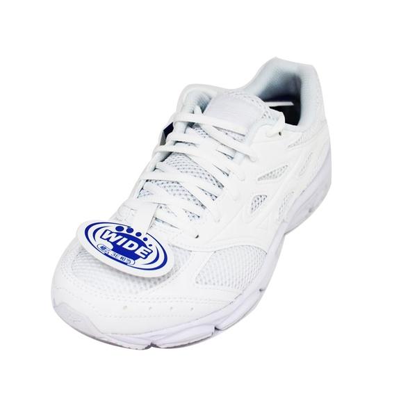 MIZUNO 美津濃 MAXIMIZER21 男女皆可 寬楦 慢跑鞋 K1GA190201 白[陽光樂活]