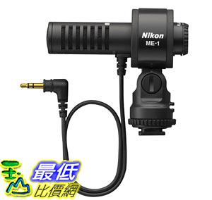 [106東京直購] NIKON 原廠立體收音麥克風 ME-1 降噪 錄音 單指向性 D4 / D800E / D7000