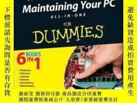 二手書博民逛書店Troubleshooting罕見and Maintaining Your PC All-in-One For D