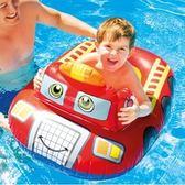 游泳圈 兒童-6歲加厚可愛卡通造型水上活動坐騎浮板3款73ez21[時尚巴黎]