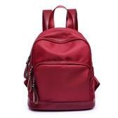 牛津布後背包女新款韓版百搭迷你學生尼龍帆布書包休閒小背包