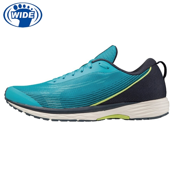 MIZUNO DUEL SONIC 寬楦 一般型 男款 路跑鞋 競賽鞋 湖水綠 U1GD213625 21SS