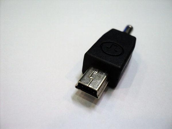 ✔充電轉接頭 Mini USB 電源轉接頭 電源轉換頭 更換接頭 行動電源 USB充電 手機充電