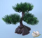 仿真 黑松樹小品盆栽 料理裝飾☆人造花.假樹.居家.店面.櫥窗擺飾.園藝☆