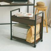 電腦桌 移動式 書櫃 收納櫃  公文櫃【X0007】曼德爾移動式檔案櫃(胡桃) MIT台灣製ac   收納專科
