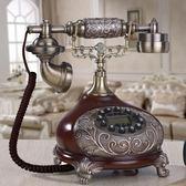 家用電話客廳仿古電話機家用復古創意座機歐式裝飾電話機 LX爾碩數位3c