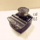 義大利 Bortoletti CAL65 Inkwell 白銅 鋼筆用黑色 墨水瓶 21501167479586 /  個