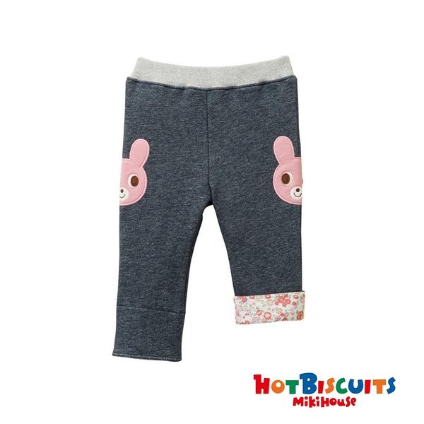 HOT BISCUITS 卡比兔彈性羊毛絨反摺長褲