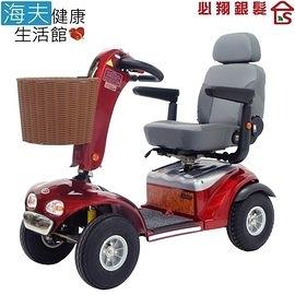【海夫健康生活館】必翔 電動代步車 P型把手(TE-889SL)