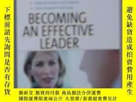 二手書博民逛書店英文原版罕見Becoming an Effective Lead