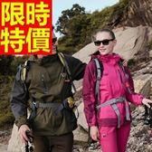 登山外套-防風保暖透氣防水情侶款滑雪夾克(單件)62y13【時尚巴黎】