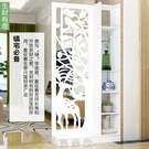歐式客廳玄關櫃屏風隔斷簡約現代門廳櫃酒櫃間廳櫃置物儲物展示櫃 現貨快出
