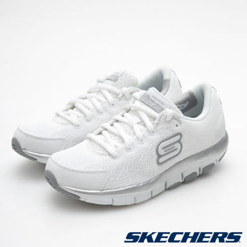 SKECHERS 女鞋  Liv 智慧生活系列  記憶型鞋墊 健走慢跑鞋 - 白 99999830WSL