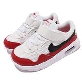 Nike 童鞋 Air Max SC TDV 紅 白 黑 氣墊 小朋友 小童 嬰幼 0-4歲【ACS】 CZ5361-106