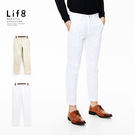 Formal 多剪接 設計長褲-白色【1...