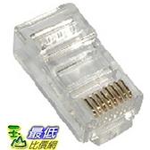 [有現貨 ]100顆 進口 三叉 RJ45 鍍金 8P8C 模組 (10011__m04)dd