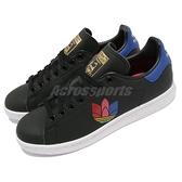 【海外限定】adidas 休閒鞋 Stan Smith W 黑 藍 紅 金標 史密斯 女鞋 運動鞋 三葉草 【ACS】 FW2458