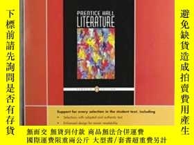 二手書博民逛書店Prentice罕見Hall Literature Penguin Edition Readers Noteboo