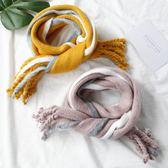 新款韓版兒童圍巾男寶寶圍巾冬季柔軟保暖毛線圍巾嬰兒針織圍脖女
