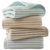 毛巾棉洗臉家用四條裝成人大毛巾柔軟吸水春夏適用【免運】