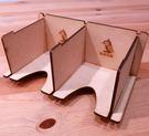 【桌遊菜鳥】【買5送1】可堆疊雙格牌架(單格 7.5cm x 9cm) 中壢可樂農莊