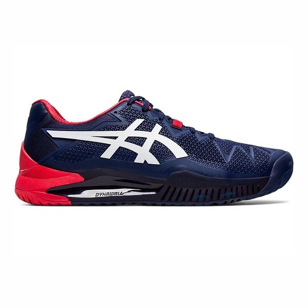 Asics Gel-resolution 8 [1041A079-400] 男鞋 運動 休閒 網球 避震 亞瑟士 藍
