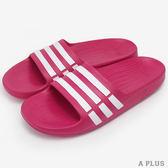 adidas 童 DURAMO SLIDE K 愛迪達 拖鞋- G06797