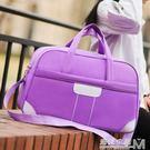 旅行包女手提包待產包韓版短途插拉桿大容量防水可摺疊健身行李包  遇見生活