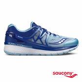 SAUCONY HURRICANE ISO 3 穩定支撐專業訓練鞋款-藍x天空藍