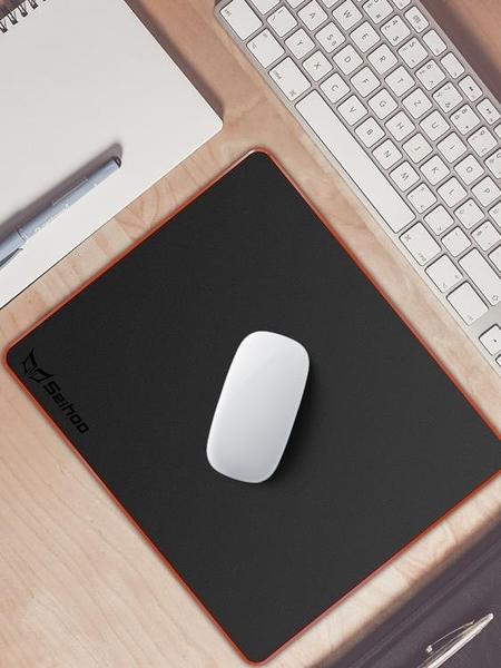 滑鼠墊 硬質鼠標墊小號電競吃雞筆記本電腦辦公滑鼠墊防水定制【快速出貨八折搶購】
