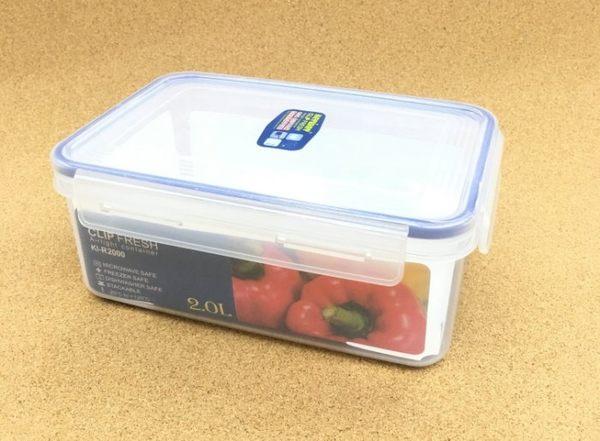 《一文百貨》KEYWAY天廚長型保鮮盒2L/KI-R2000/台灣製造
