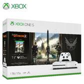 【Microsoft 微軟】Xbox One S 1TB《湯姆克蘭西:全境封鎖 2》同捆組