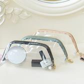 (大)果凍透明化妝包 手拿包 果凍包 洗漱包 收納包 透明袋 PVC 大容量 化妝包【B060】生活家精品