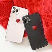蘋果 iPhone12 Pro Max 12Mini 12Pro i11 Pro Max 黑白紅心 i11 i12 手機殼 全包邊 保護殼
