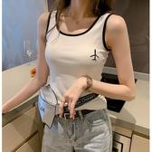 2019夏季女裝新款時尚吊帶背心女外穿無袖上衣