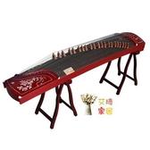 古箏 初學者教學演奏入門揚州古箏琴 梧桐木十級考級樂器T