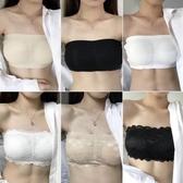 夏季新款韓版蕾絲美背少女一片式抹胸無鋼圈聚攏文胸裹胸內衣