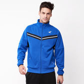 美國AIRWAL簡約時尚 V型剪接高領外套-藍