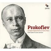 【停看聽音響唱片】【CD】普羅高菲夫:小提琴原創作品(奏鳴曲/短曲)