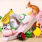 買一送一 兒童生日禮物 會走路的動物氣球 卡通散步寵物【英賽德3C數碼館】