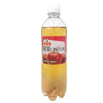金蜜蜂 蘋果口味汽水 500ml