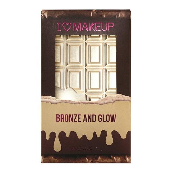 英國 Makeup Revolution Bronze and Glow 高光修容盤