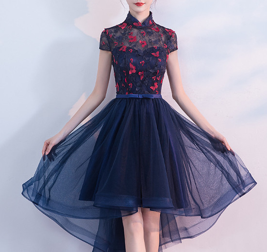 (45 Design) 洋裝禮服婚禮洋裝伴娘禮服洋裝小禮服中長禮服小洋裝蕾絲洋裝媽媽禮服2