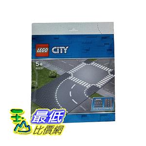 [COSCO代購] W123428 LEGO 城市系列彎道 + 十字路口 City Curved + Crossroad