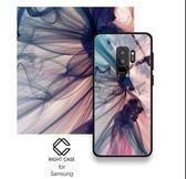 三星 S8 煙霧手機套 S8 + 抽象手機殼 三星 S9 PLUS 手機防摔殼 NOTE 8 鋼化玻璃手機軟殼 S9 手機套