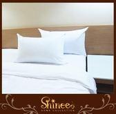原價6980元↘SHINEE 六星級強力推薦 (飯店強化版緹花抗菌表布羽絲絨枕-1入)-枕頭 每顆重量3KG